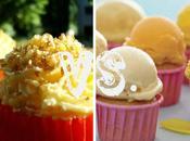 Cupcakes italo-spagnoli l'estate: Gelato Agua Valencia