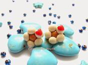Orecchini forma margherita stile Thun, realizzati Fimo!! festa della mamma
