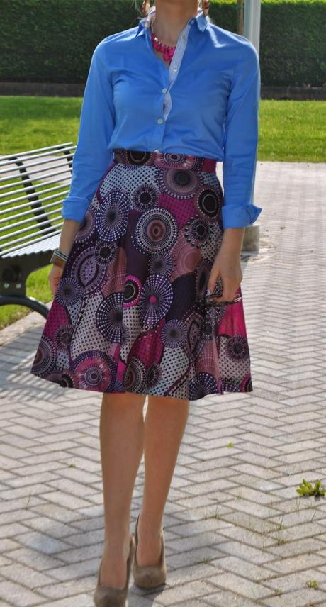 fine ethnic skirt outfit 11