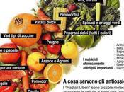 Colori vivi tavola dieta ricca antiossidanti