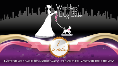 wedding dog sitter logo