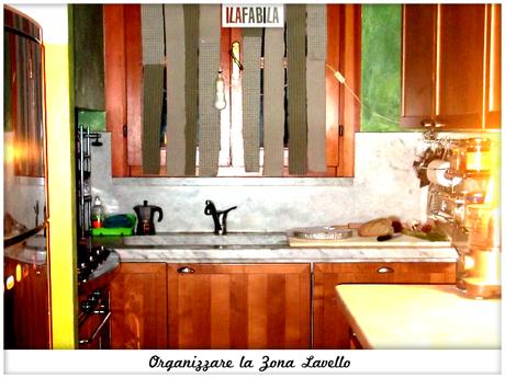 Cucina organizzare la zona lavello paperblog - Organizzare la cucina ...