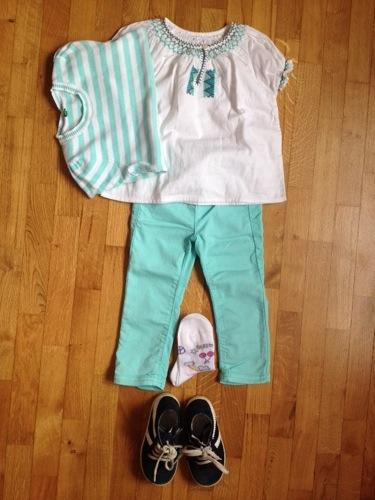 Turquoise outfit on sissiworld