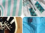 Spring turquoise outfit kids