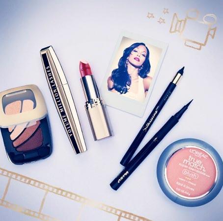 Zoe Saldana - Make Up