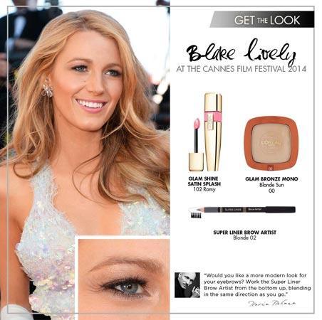Il make up di Blake Lively