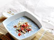Almonds coconut milk chia seed pudding