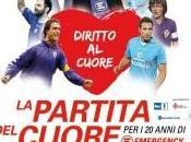 """Firenze: questa sera """"Partita Cuore Emergency"""", trasmessa anche RaiUno"""