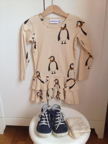 Mini ROdini penguin dress sissiworld