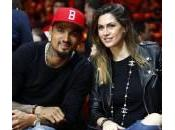 Melissa Satta Kevin Price Boateng innamorati alla partita basket (foto)