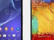 Samsung Galaxy Note Sony Xperia video confronto italiano