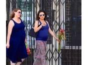 Mila Kunis passeggio: pancione sempre vista (video)