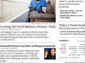 lezione giornalismo digitale York Times