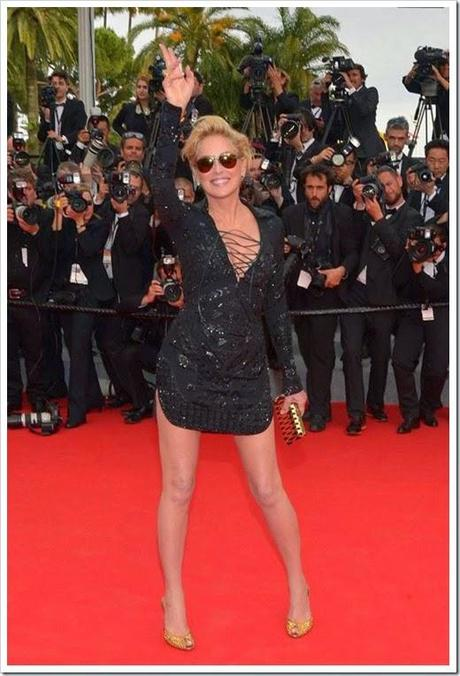 Sharon-Stone cannes 2014
