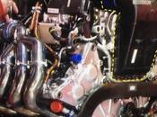 Power-Unit Ferrari l'intercooler nella motore