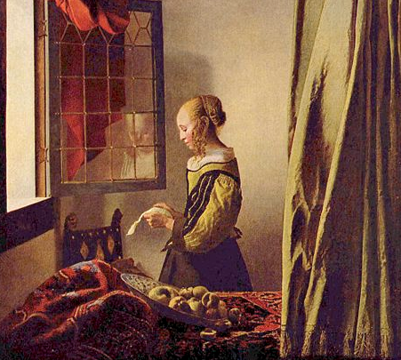 La ragazza con l orecchino di perla jan vermeer - La ragazza alla finestra dali ...
