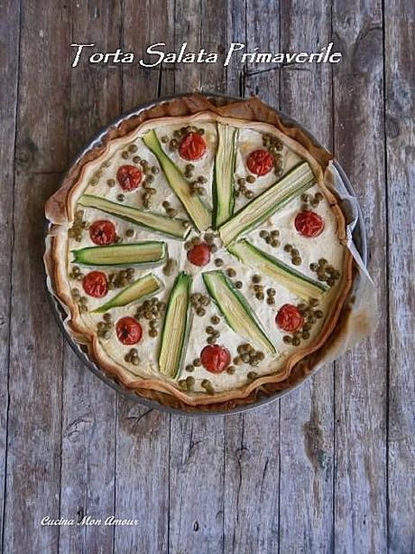 Crostata salata primaverile paperblog for Piani casa per il fine settimana