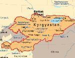 Kirghizistan. grande piano viario sviluppo paese