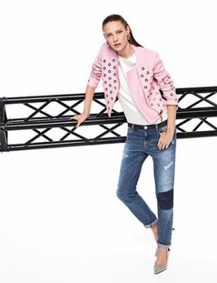 online store e5876 f96d7 Pinko estate 2014: tanto colore e fantasie geometriche glam ...