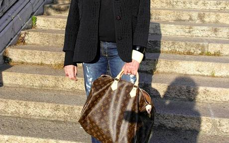 Louis Vuitton Bauletto Speedy 40