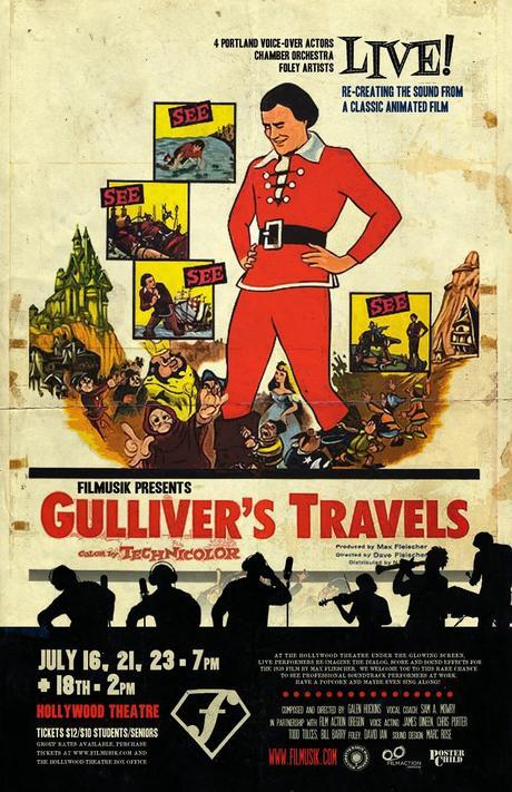 I viaggi di gulliver dave fleischer paper