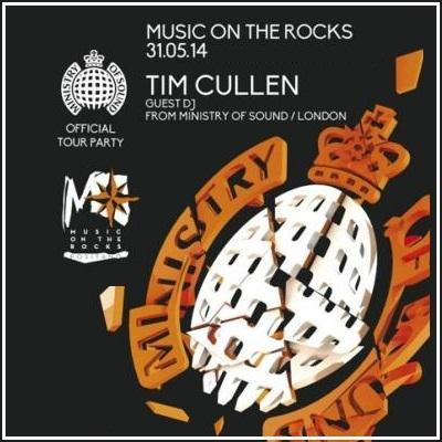 31 maggio 2014 - Ministry of Sound Official Tour Party @ Music on the Rocks Positano (Sa).