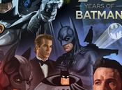 anni Batman: un'illustrazione interattiva rende omaggio vari Uomini Pipistrello