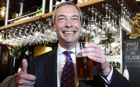Nigel Farage: I am 'entitled' to a lunchtime pint