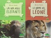 """orme leone"""" degli elefanti"""" Nicola Davies, Editoriale Scienza"""