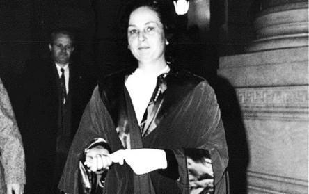 Maria Gabriella Luccioli, una delle prime 8 donne magistrato
