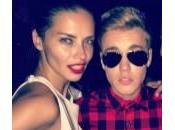 "Justin Bieber Adriana Lima, ""notte passione Cannes"""