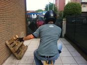 gesti tipici Motociclista Tavola