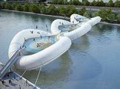ponte-trampolino sulla Senna