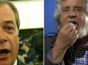"""Grillo-Farage """"siamo coppia bella mondo"""""""