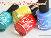 Rimmel, Seconds Underground Nail Polish Review swatches