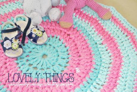 Tutorial tappeto crochet - Paperblog