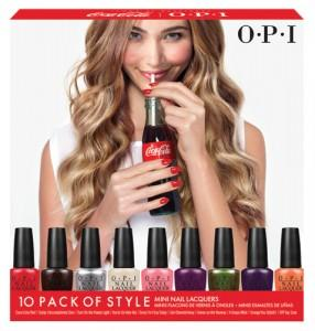 mini set OPI Coca Cola