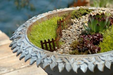 Giardino in miniatura ecco come fare - Giardino in miniatura ...