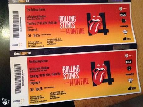 THE ROLLING STONES      Zurigo  1/06/2014