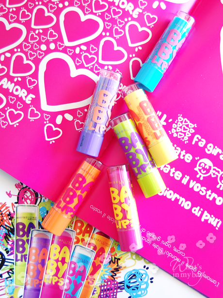 Talking about: Maybelline, Baby lips change your kiss