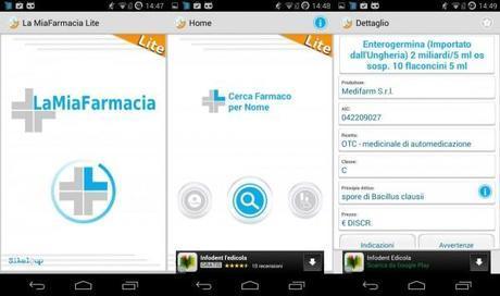 la mia farmacia 3 600x355 La mia Farmacia: addio foglietto illustrativo grazie ad Android applicazioni  play store google play store