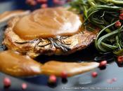 Bistecca vitellone salsa brandy agretti barba frate pepe rosa verdura stagione davvero ottima