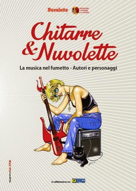 Anteprima di una delle tavole della mostra chitarre for Chitarre magazine