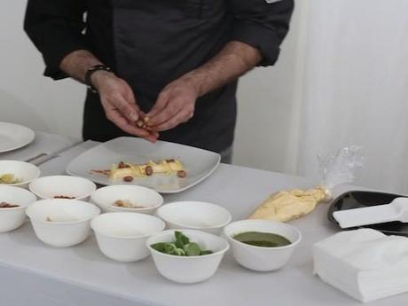 Chef Pappalardo al Taste of art