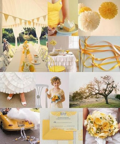 Matrimonio In Giallo E Bianco : Allestimento giallo o bianco? mi aiutate? organizzazione