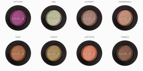 Collezione Solaris di Nabla Cosmetics - Swatch prime impressioni e MOTD
