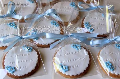 Biscotti decorati per una cresima paperblog - Decorazioni per cresima ...