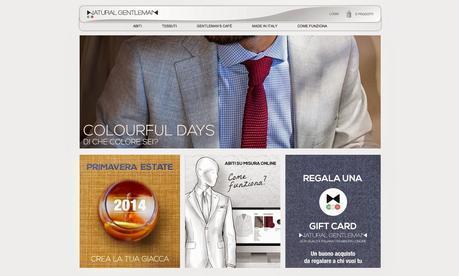 Eleganza maschile e sartorialità convivono con il mondo on-line: nasce Natural Gentleman