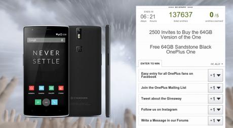 It s Storming Invites OnePlus.net  600x329 OnePlus One: ora disponibili 2500 inviti grazie ad un contest smartphone  OnePlus One