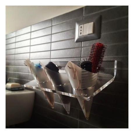 Design in plexiglass il plexiglass e l arredo bagno paperblog - Accessori bagno in plexiglass ...